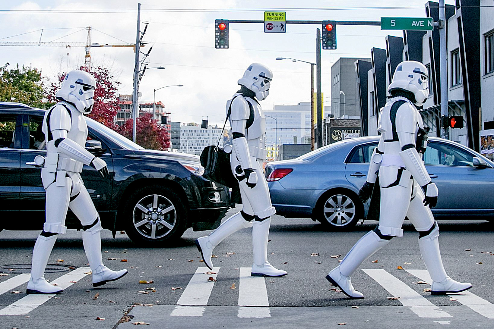 JOHNNY ANDREWS PHOTOGRAPHY : EDITORIAL :: Star Wars stormtroopers