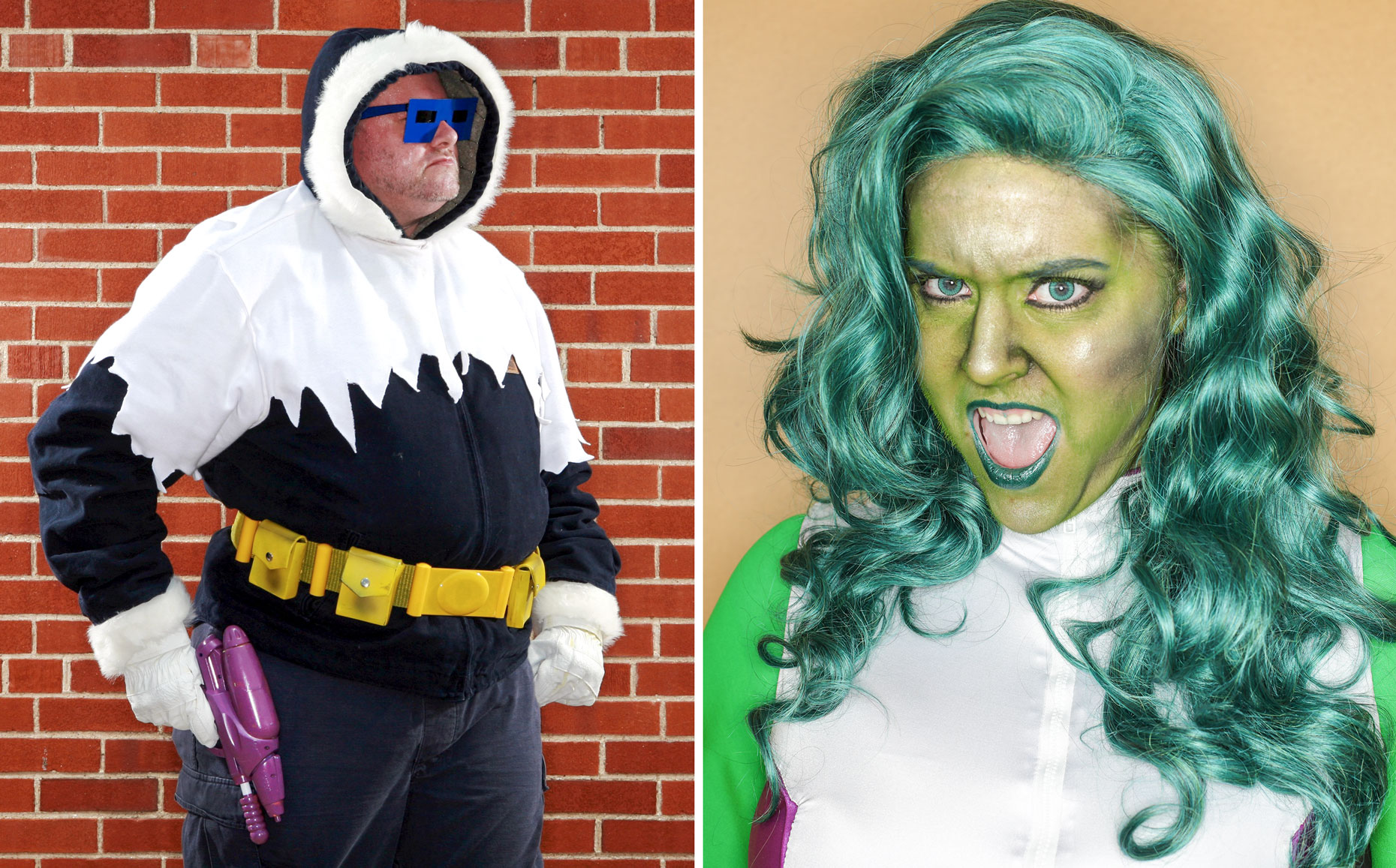 JOHNNY ANDREWS PHOTOGRAPHY :: PORTRAITURE :: Captain Cold and She-Hulk