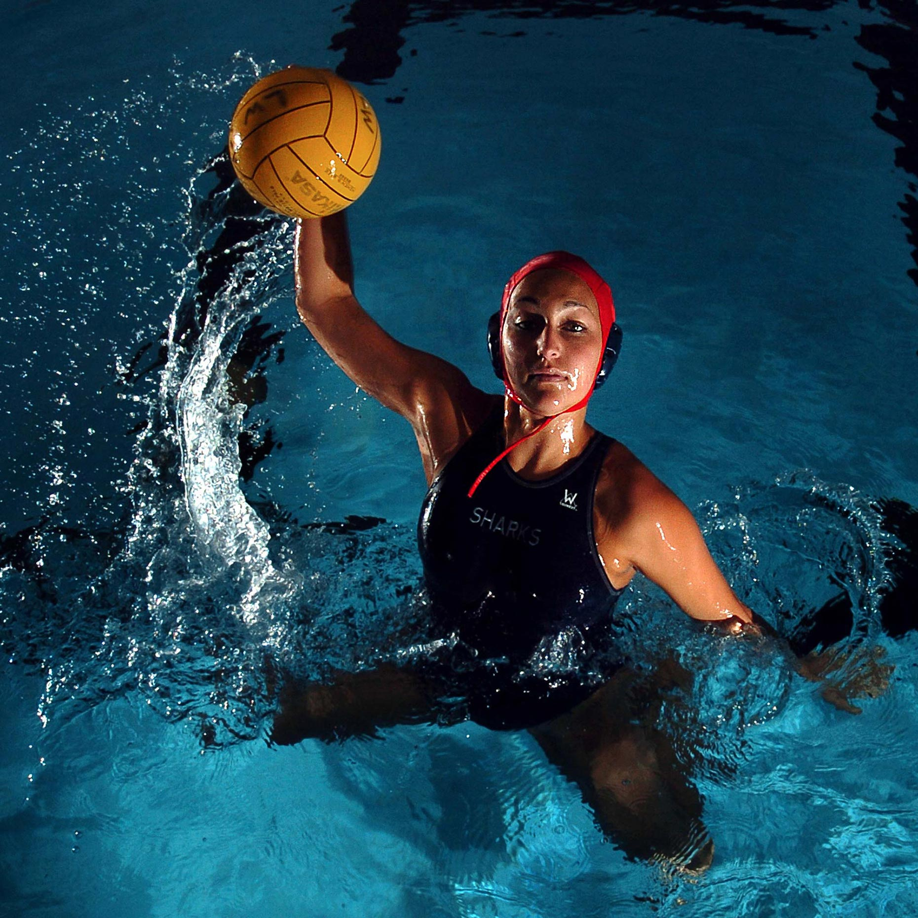 JOHNNY ANDREWS PHOTOGRAPHY :: PORTRAITURE :: Water Polo