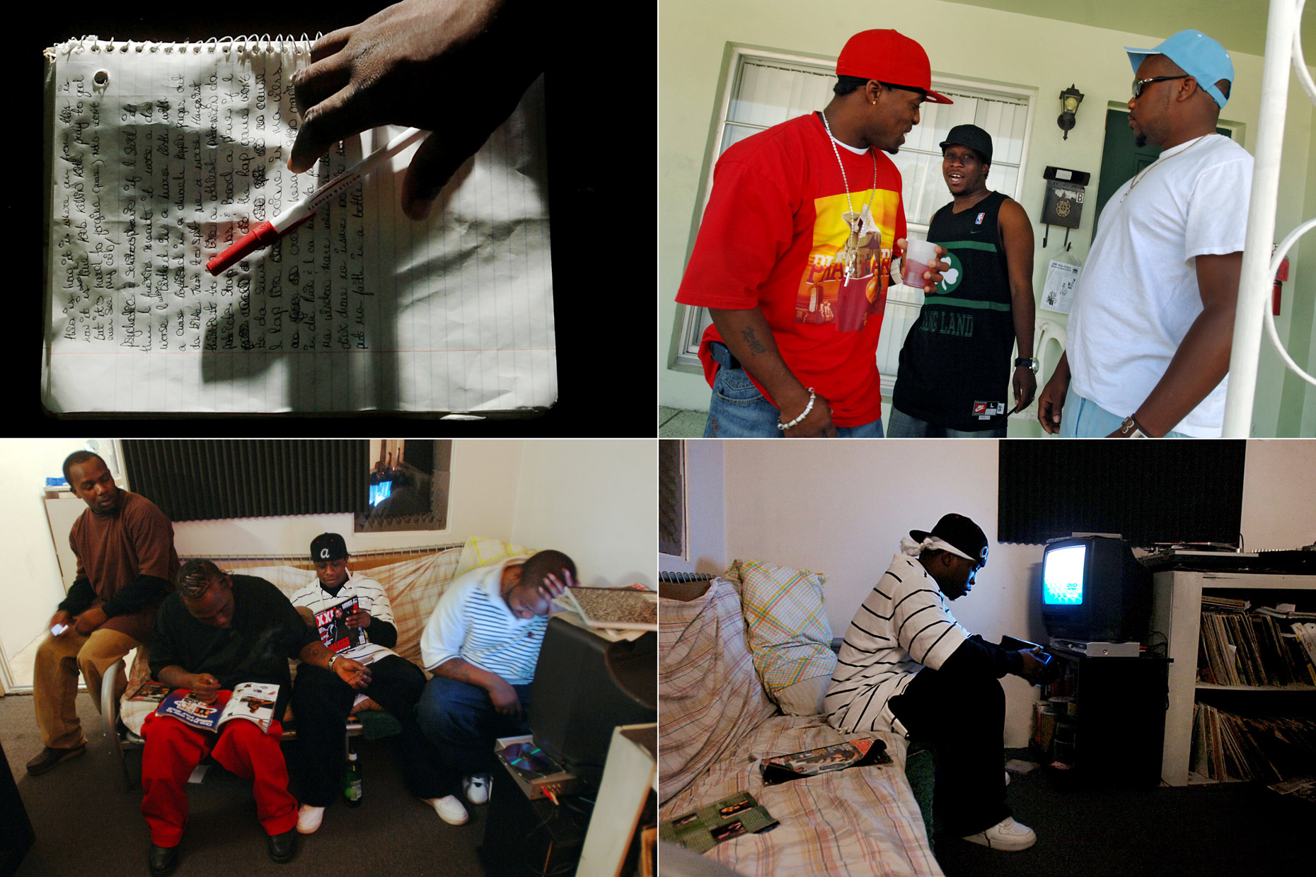 JOHNNY ANDREWS PHOTOGRAPHY : PROJECTS :: Life and Hip-Hop
